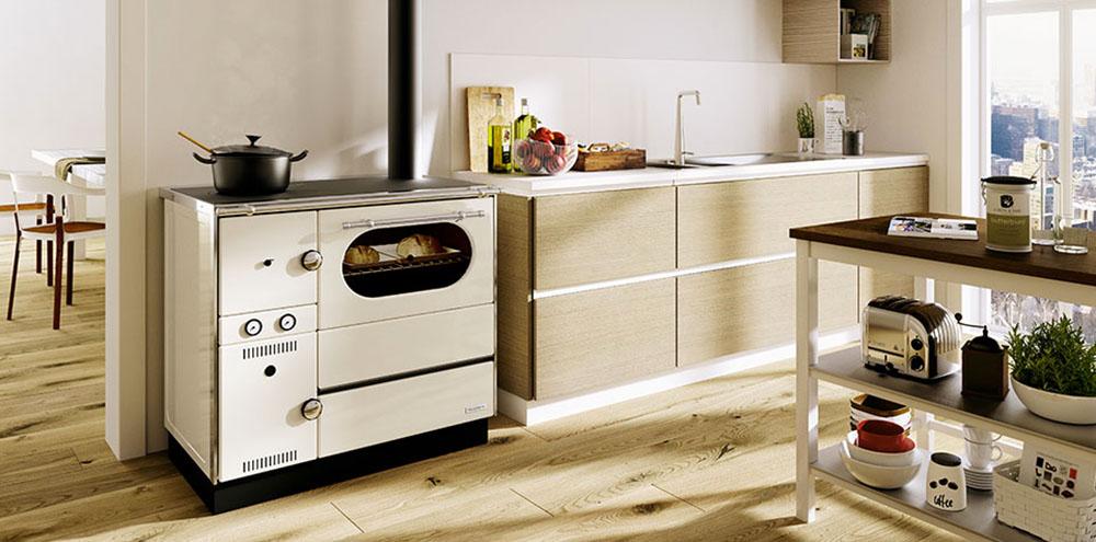 cucina a legna forno a legna